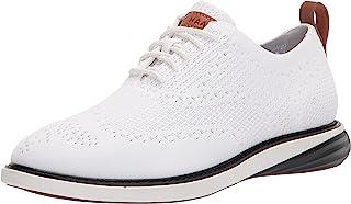 حذاء أكسفورد رجالي من Cole Haan OPTIC WHITE KNIT