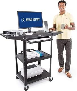 mainstays adjustable utility/shopping cart