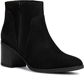 GEOX Womens New Asheel Ankle Boots in Black.