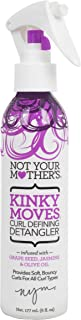 Not Your Mothers Kinky Moves Curl Defining Detangler 6 Ounce (177ml) (2 Pack)