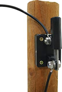 Powerfields P-COS Single Pole Fence Energizer Cut Off Switch, Steel/Black