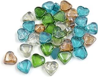 Best heart shaped glass pebbles Reviews