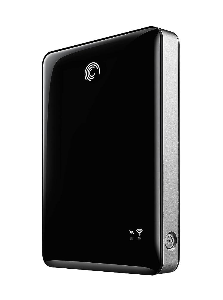Seagate GoFlex Satellite Mobile Wireless Storage 500 GB USB 3.0 External Hard Drive STBF500101 Black