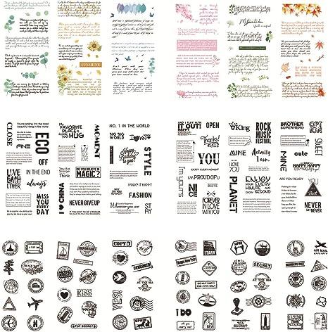 Christmas Present Notebook Journal StickersSelf AdhesiveLaser Cut Stickers