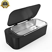 Ultrasonic Jewelry Cleaner Professional Ultrasonic Machine for Rings Watches Denture Eyeglasses Coins Razors with 450ml