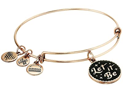 Alex and Ani Let It Be Bangle Bracelet (Rafaelian Rose Gold) Bracelet