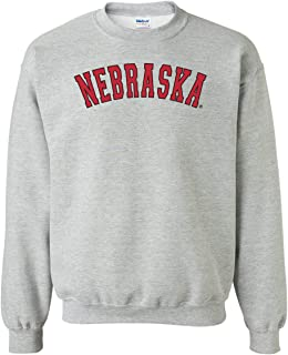 CornBorn Nebraska Arch Crewneck Sweatshirt