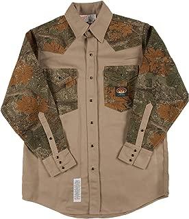Camo Shirt FR Western with Snaps 10 oz