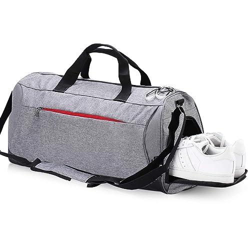 157e2ef8c30 Eocean Waterproof Duffle Bag Dry Wet Depart Sports Gym Bag with Shoes  Compartment, Waterproof Duffel