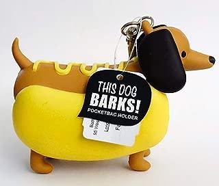 Bath Body Works PocketBac Hand Gel Holder Barking Dachshund Hot Dog