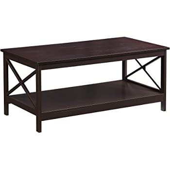 Convenience Concepts Oxford Coffee Table, Espresso