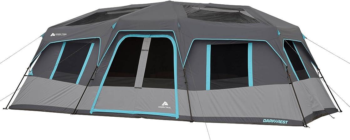 Ozark Trail Dark Rest Instant Cabin 12 Person Tent