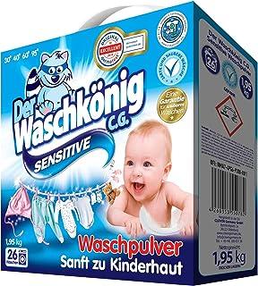 Waschkonig_Sensitive waspoeder, 1,95 kg, 26 WL