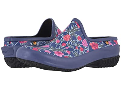 Bogs Patch Clog Vine Floral (Indigo Multi) Women