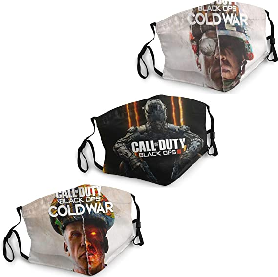 18. Call of Duty Breathable Comfortable Face Mask
