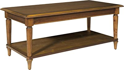 OSP Home Furnishings Bandon Coffee Table, Ginger Brown