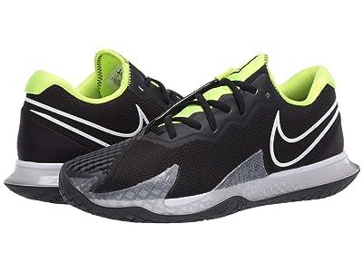 Nike NikeCourt Air Zoom Vapor Cage 4 (Black/White/Volt/Dark Smoke Grey) Men
