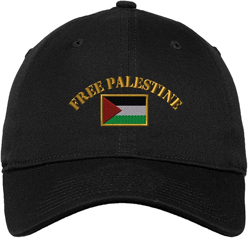 Speedy Superior Pros Free Palestine Flag So Dealing full price reduction Unisex Adult Embroidered Flat