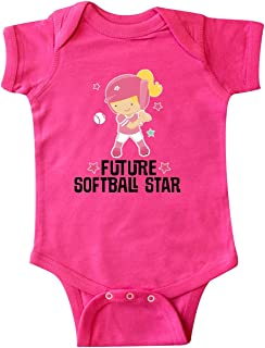 Future Softball Star Girl Infant Creeper