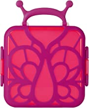 Boon Bento Lunch Box Pink Butterfly