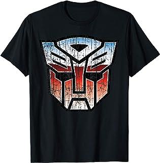 US Transformers + Logo Autobot Distressed 01 T-Shirt