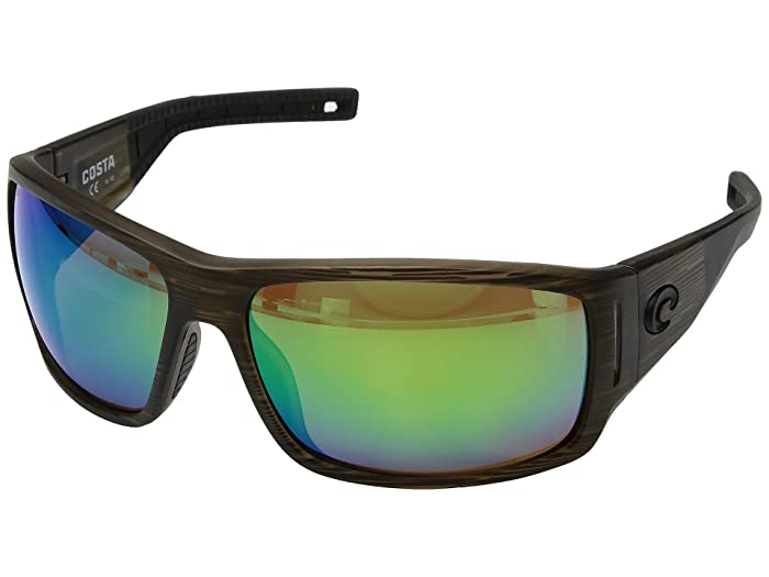 Costa  Cape (Bowfin Frame/Green Mirror 580P) Sport Sunglasses