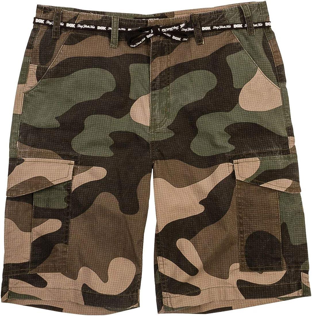 DGK Men's O.G.S. Cargo Shorts