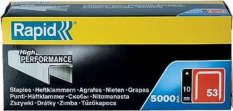 Rapid 11858810 fijne draadklem type 53/10mm, 5.000 st. doos, 10 mm