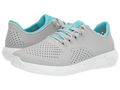Crocs LiteRide Speckled Pacer (Pearl White/White) Women