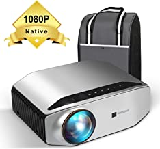 Native 1080p Projector – GooDee YG620 Newest LED Video Projector/ 6000Lux/..