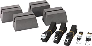 Pelican Boats - Universal Canoe Car-Top Roof Carrier Kit- PS0520-3 - Fits Vehicles - Heavy Duty & Safe, One Size, Charcoal/Black