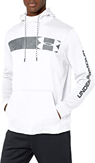 Armour Fleece Pullover Hoodie bar Logo Graphic
