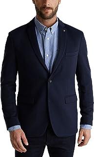 ESPRIT Men's 990ee2g301 Blazer, 405/Dark Blue, 44