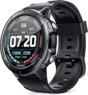 Arbily Smartwatch Reloj Inteligente con Pantalla Tátil Completa para Mujer Hombre Niños, 【Actualizado en 2020】 Reloj Deportivo con Monitor de Ritmo Cardíaco y Monitor de Sueño, Cronómetro Podómetro