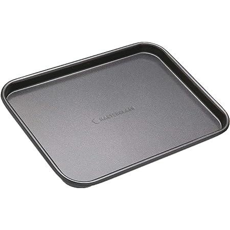 MasterClass Non-Stick Baking Tray, Carbon, Grey, 24 x 18 cm
