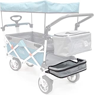 Creative Outdoor Removable Storage Tray for Push Pull Wagons | Accessory | Gray