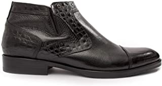 Mario Bruni Trendy Italian Leather Ankle Boots