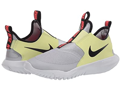 Nike Kids Flex Runner (Big Kid) (Light Smoke Grey/Black/Limelight) Kids Shoes