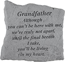 Kay Berry- Inc. 16020 Grandfather Although You Can-t Be Here - Memorial - 5.25 Inches x 5.25 Inches
