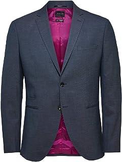 Selected Men's SLHSLIM-MAZELOGAN STRUC BLZ B NOOS Blazer
