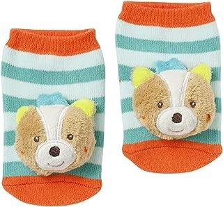 Baby Fehn 71597 Çıngıraklı Çorap Tilki, Çok Renkli