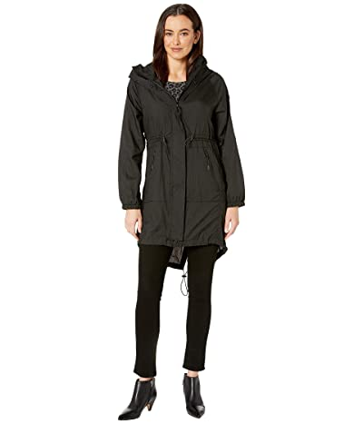 Tumi Ultralight Rain Pack Jacket (Black) Women