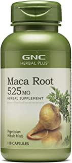 GNC Herbal Plus Maca Root 525 MG 100 caps