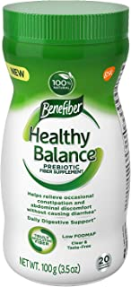Benefiber Benefiber Healthy Balance, 20 Servings, Unflavored, 3.5 oz