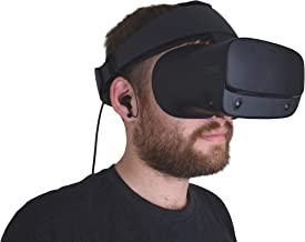 DeadEyeVR Integrated Rift S Headphones - Rift S Specific Headphones That Conveniently Attach to the Oculus Rift S Headset