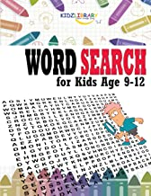 Word Search for Kids Age 9-12: 60 Easy Large Print Word Find Puzzles for Kids: Jumbo Word Search Puzzle Book (8.5