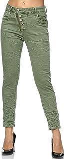 Elara Jeans Mujer Cintura Alta Botones Chunkyrayan
