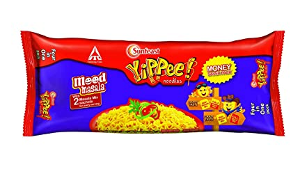 Sunfeast Yippee Mood Masala Noodles Family Pack, 280g