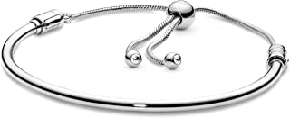 Pandora Women Cubic Zirconia PANDORA Sliding Bangle Bracelet - 16