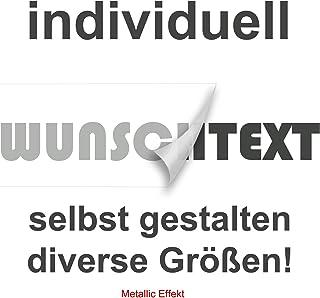 Aufkleber Text Name 40cm länge Wunschname Beschriftung Schrift und Farbwahl